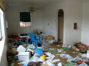 Ugly home inside